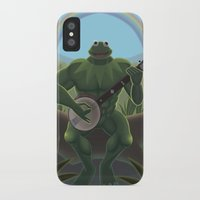 muppet iPhone & iPod Cases featuring A Very Manly Muppet by Crystal Kan