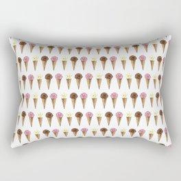 Ice Cream Cones Rectangular Pillow