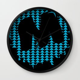 Moulded, but Alternative Wall Clock