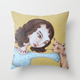 We need to chat Throw Pillow