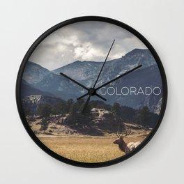 Colorado wild Wall Clock