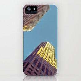 SF high rises iPhone Case