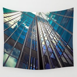 Glass Tower Wall Tapestry