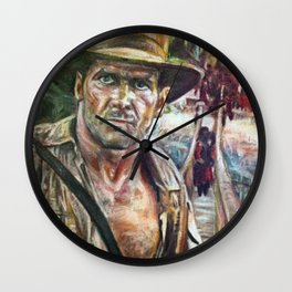 Indiana Wall Clock