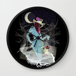 Welcome To The Darkness Wall Clock