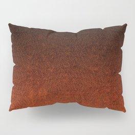 Orange & Black Glitter Gradient Pillow Sham