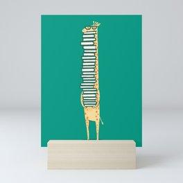 A book lover Mini Art Print