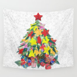Santa's Work is Done Wall Tapestry
