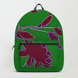 Colorful flowers (dramatic) Backpack