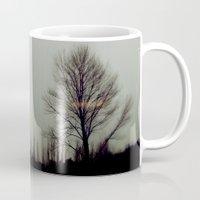 ufo Mugs featuring ufo by sustici