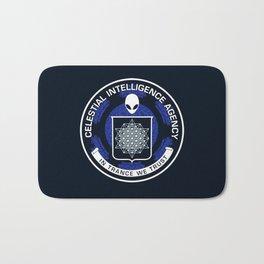 Celestial Intelligence Agency Bath Mat