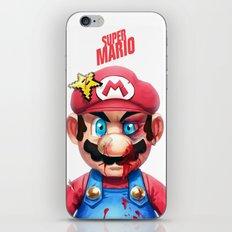 Beat Up Mario iPhone & iPod Skin