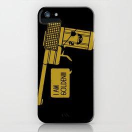 Dangerously Golden iPhone Case