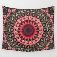 spiritual Wall Tapestries featuring Spiritual Rhythm Mandala by Elias Zacarias