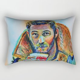 Tom Hardy Rectangular Pillow