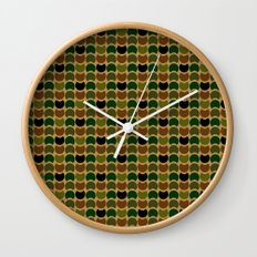 HobNob Camo Multi Wall Clock
