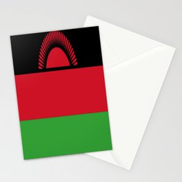 Flag of Independent Malawi Stationery Cards