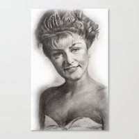 laura palmer Canvas Prints featuring TWIN PEAKS - LAURA PALMER by William Wong