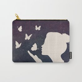 Bisou Papillon Revisited Carry-All Pouch