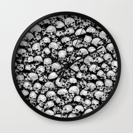 Totally Gothic II Wall Clock