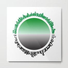 IMBALANCE Metal Print