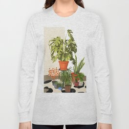 Plant Pots Long Sleeve T-shirt