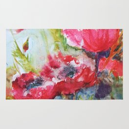 Poppies 06 Rug