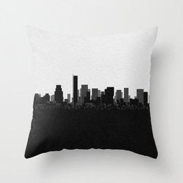 City Skylines: Boston Throw Pillow
