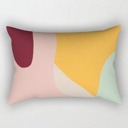 Ziz Abstract Painting Rectangular Pillow