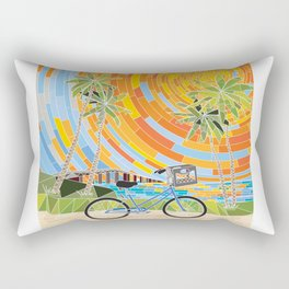 FL Keys Bicycle Rectangular Pillow