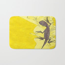 Frank the Lizard Bath Mat