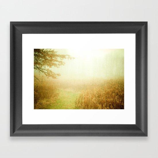 A New Day Framed Art Print