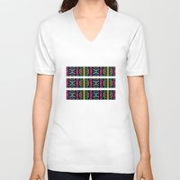 xoxo V-neck T-shirts featuring XOXO by Klara Acel