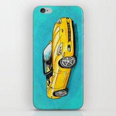 Yellow Corvette iPhone & iPod Skin