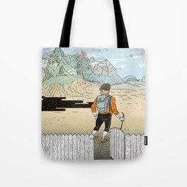 Backyard Adventure Tote Bag