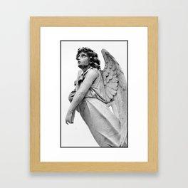 Eyes To Heaven Framed Art Print