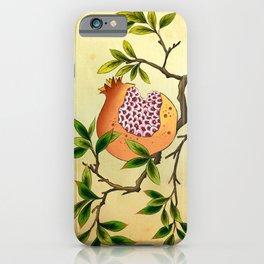 Minhwa: Branch of Pomegranate (Korean traditional/folk art) iPhone Case
