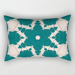 Rippled Pattern Art Print | Abstract Art | Pattern Wall Art| Wall Decor | Arr Rectangular Pillow