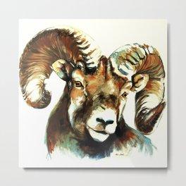 The Ram Metal Print