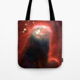 Space pillar of gas Tote Bag