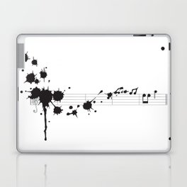 Splatter in D Minor Laptop & iPad Skin