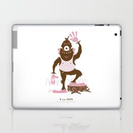 Y is for Yeti Laptop & iPad Skin