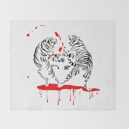 Tora Tora! // (tiger fight) Throw Blanket