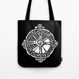 Hunab Ku.  Mayan symbol. Hand Drawn detailed pattern. Tote Bag