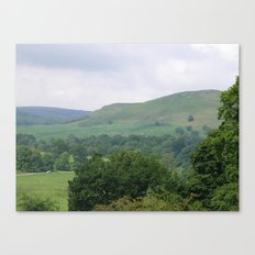 Green Hills #2 Canvas Print