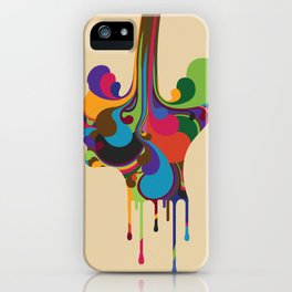 Poured iPhone Case