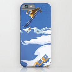 Retro Sky Skier Slim Case iPhone 6s