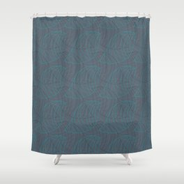 Tessellated Nature Shower Curtain