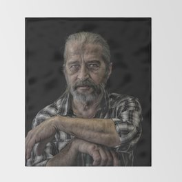 The Janitor Throw Blanket