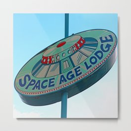Space Age Lodge 2 Metal Print